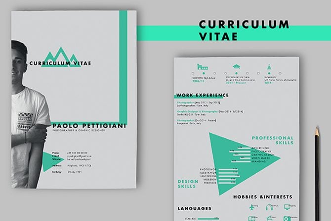 Creative Free Printable Resume Templates  Creative Professional Resumes