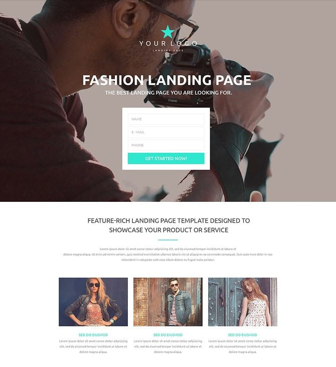 top converting landing pages