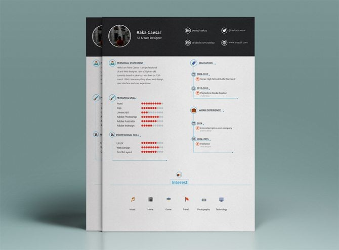free modern cv template download koni polycode co