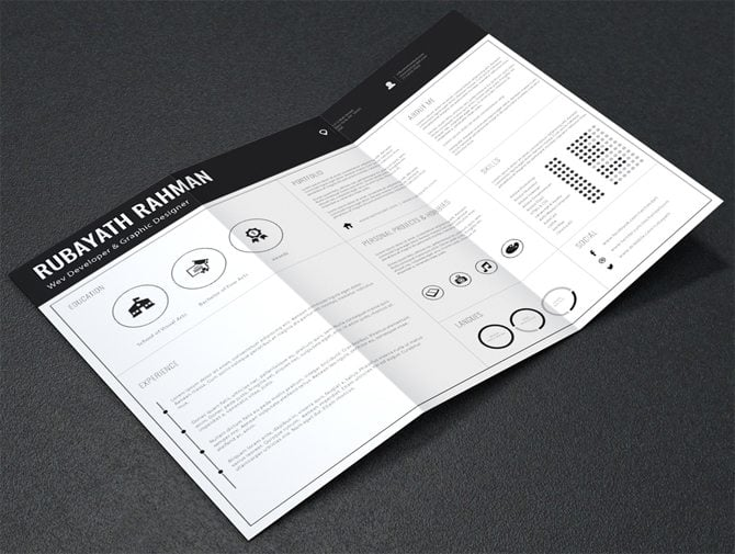 40 best 2018 u0026 39 s creative resume  cv templates