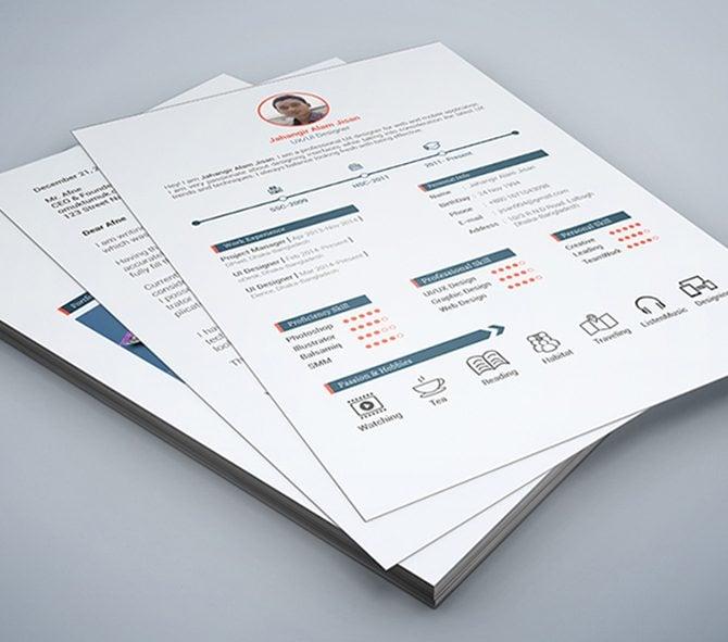 creative free printable resume templates - Free Resume Design Templates