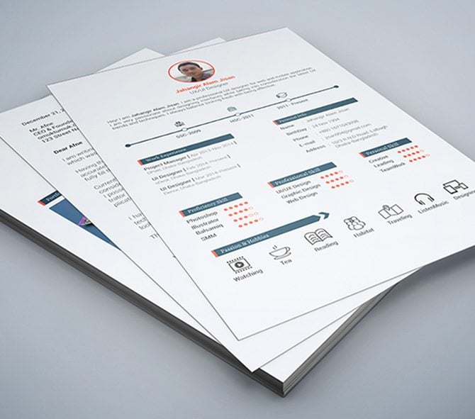 40 Best Free Resume Templates 2017 PSD AI DOC – Free Printable Resume Template