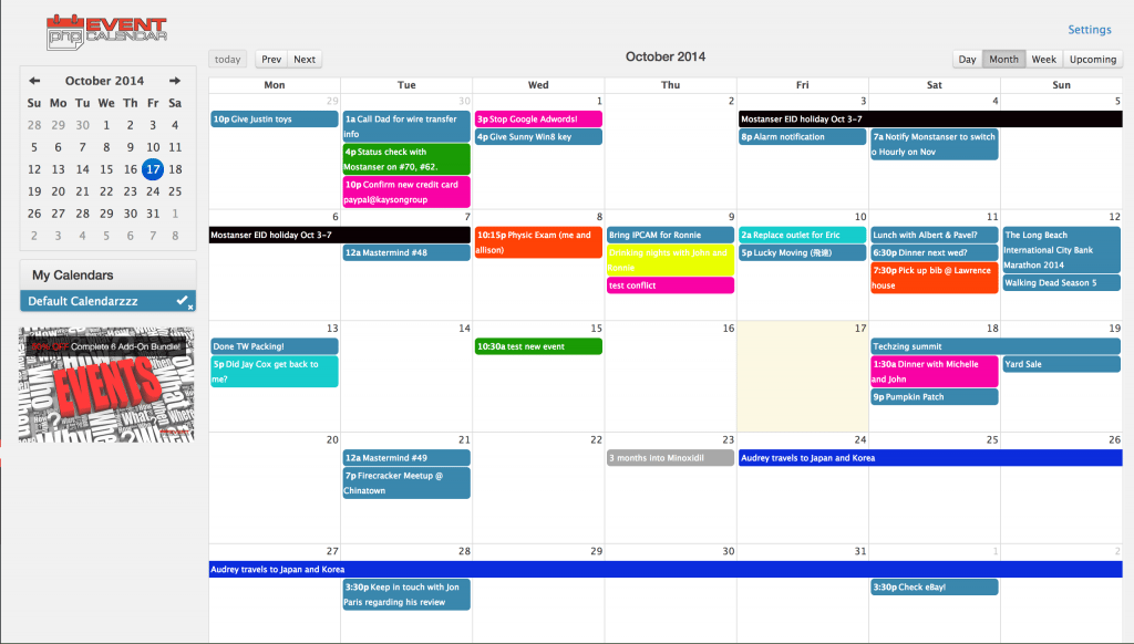 Free Event Calendar & Editorial Calendar WordPress Plugins You Will ...