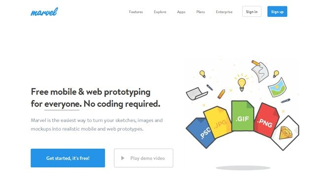 best 2016 web design tools