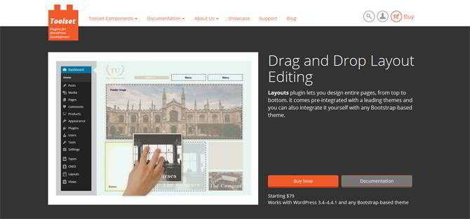 drag and drop wordpress builders