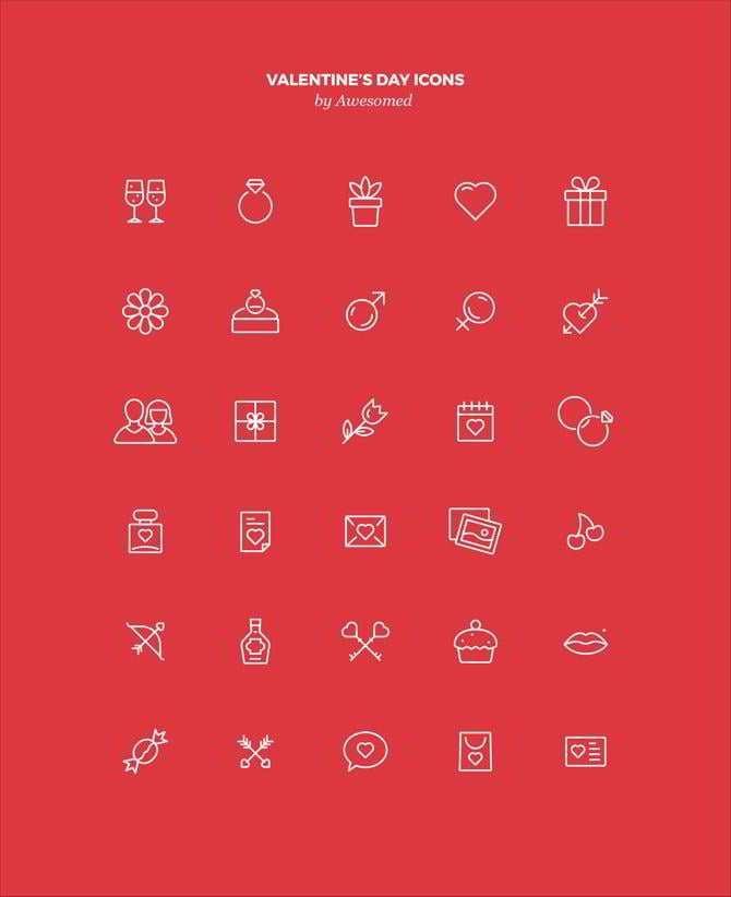 Free Valentines Day Vector Graphics