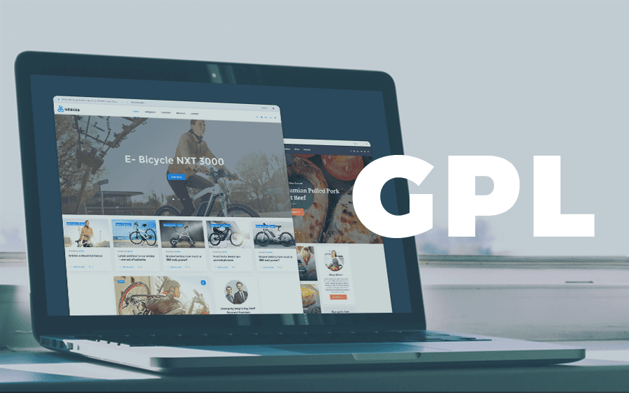 featured-image-with-gpl-wordpress-themes