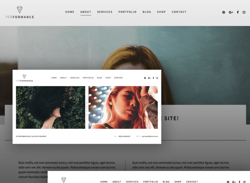 choosing WordPress theme