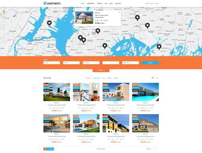 Apartments-Rent-Agency-WordPress-Theme