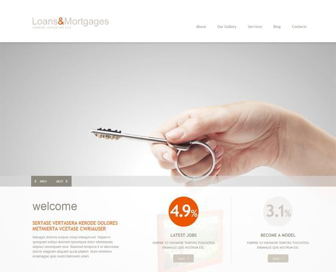 Mortgage-Responsive-WordPress-Theme