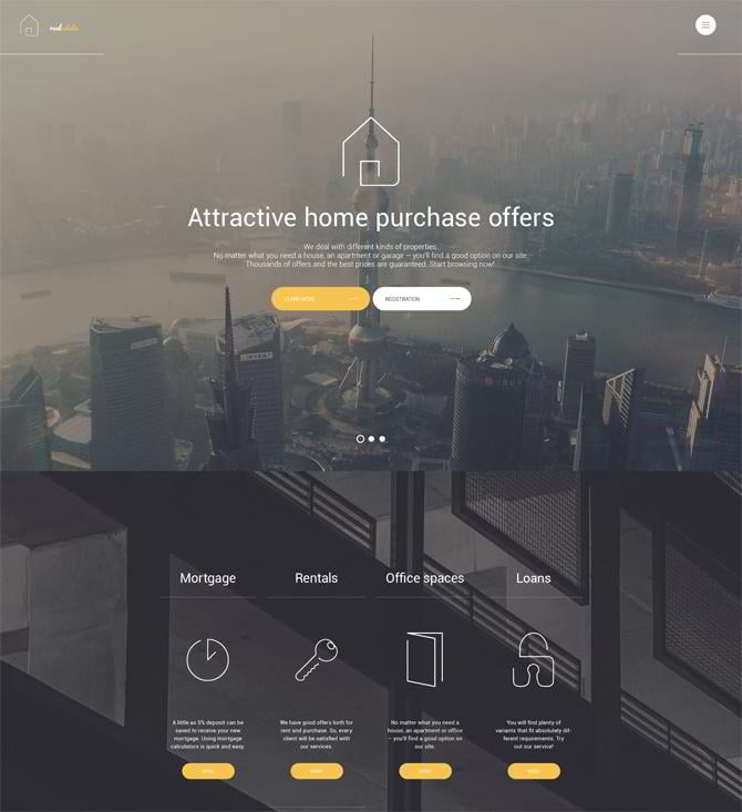 Real-Estate-WordPress-Theme