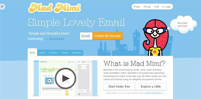 Save on email campaigns cheaper alternatives to mailchimp for Mad mimi templates