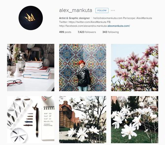 well this was my handpicked selection of the 30 talented web designers to follow on instagram all of them have their own unique style which you can learn - Graphic Artist Profile