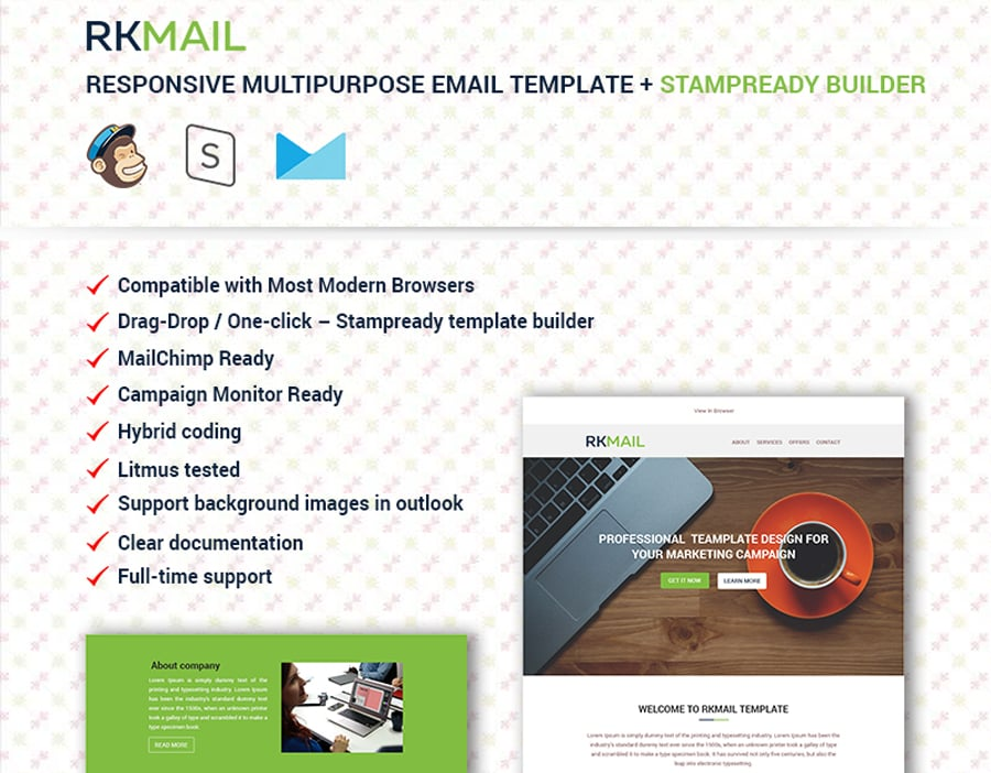 Best Promotion Email Templates For Your Business - Demo email template