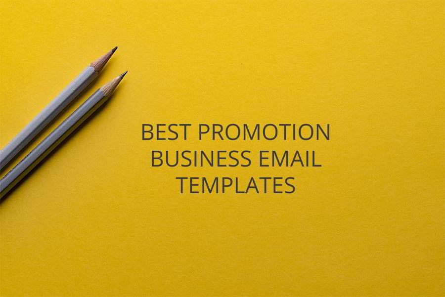 15 best promotion email templates for your business for Business promotion email template