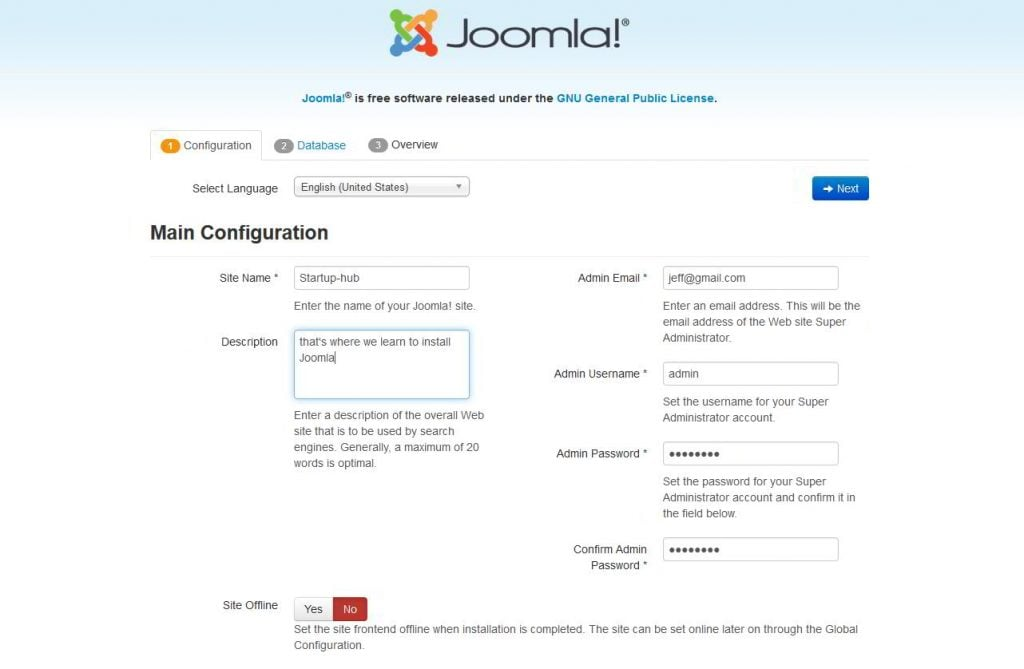 how to install joomla manually startup hub Vehicle Security Module