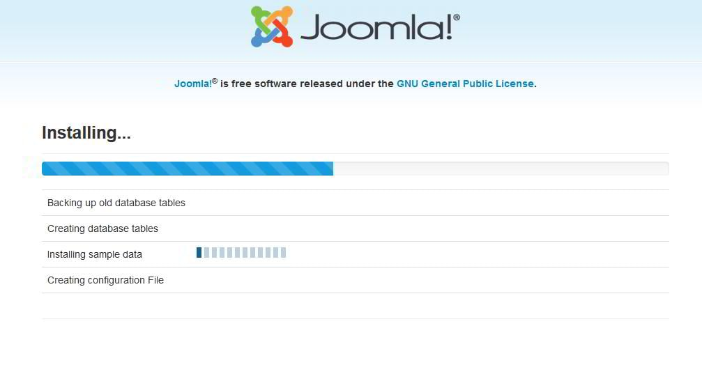 How to install joomla template startup hub for Joomla templates with sample data
