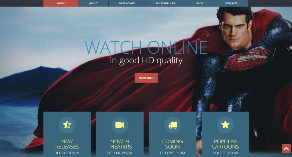 Movie info website
