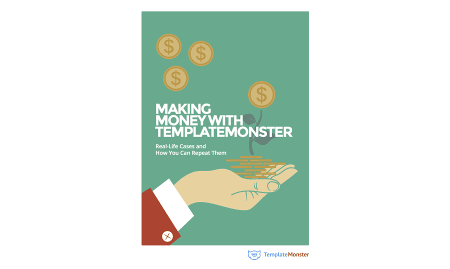 Making Money with TemplateMonster (book cover)