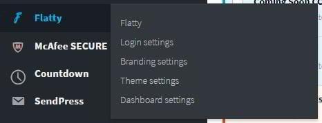 how to style wordpress dashboard