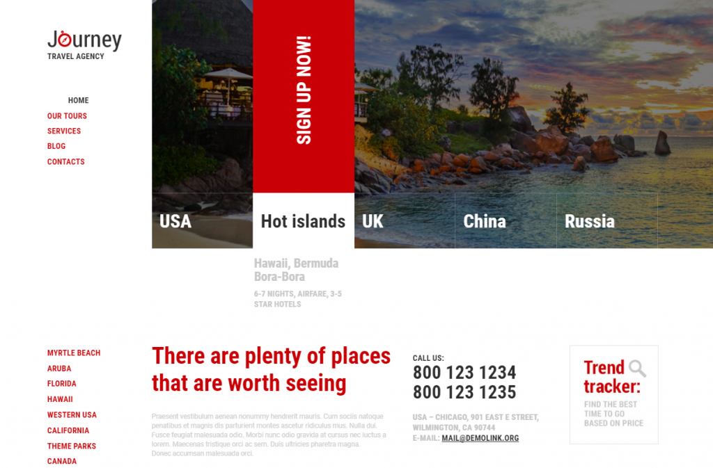 50 Best Selling Tourism & Travel WordPress Themes in 2018