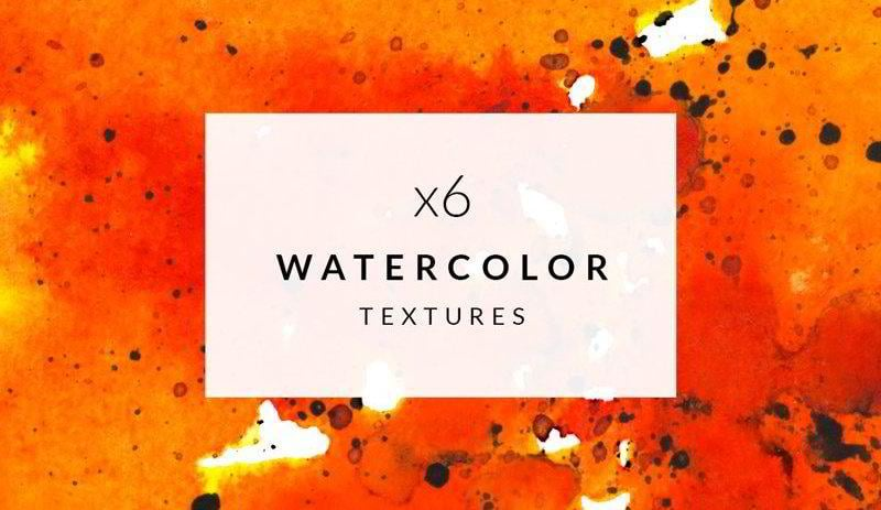 6 Free Watercolor Textures
