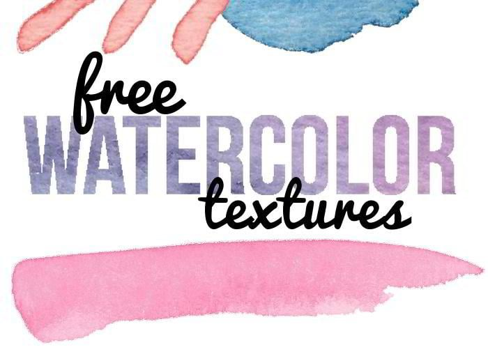 12 Free Watercolor Textures