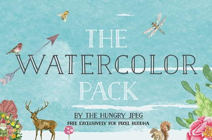 The Watercolor Pack Free