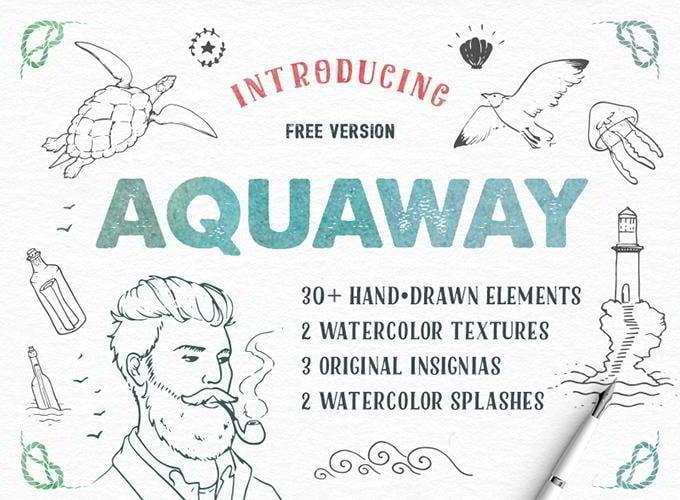 AquaWay Free Vector Pack