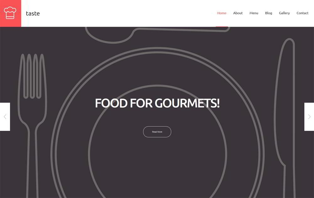 Taste WordPress Theme