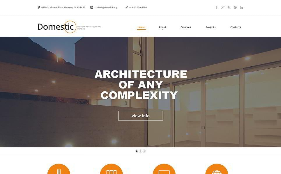 20 premium architecture html5 templates
