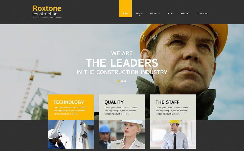23 Solid Templates For Building Company Webside