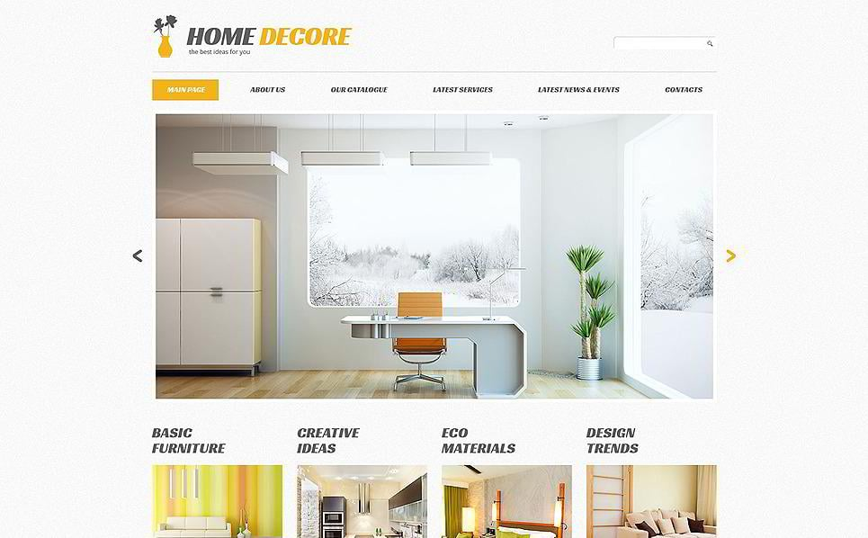 Home Decore Is A Minimalist Interior Design WordPress Theme. It Doesnu0027t  Have Any Extreme Elements In The Layout; Still, Itu0027s Worth Your Time.