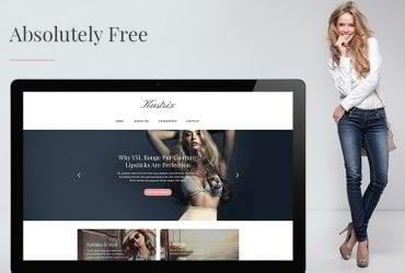 Kustrix Lite – Free GPL WordPress Theme for Fashion Blogs