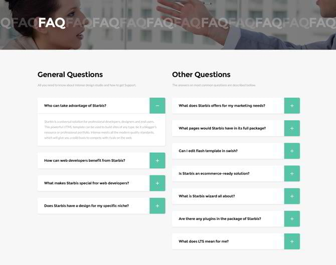 How to Add an Animated FAQ to Any WordPress Site Without a ... |Faq Sheet Template