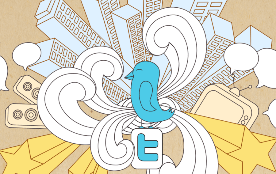 The cover of the book about growing your Twitter audience and Twitter marketing