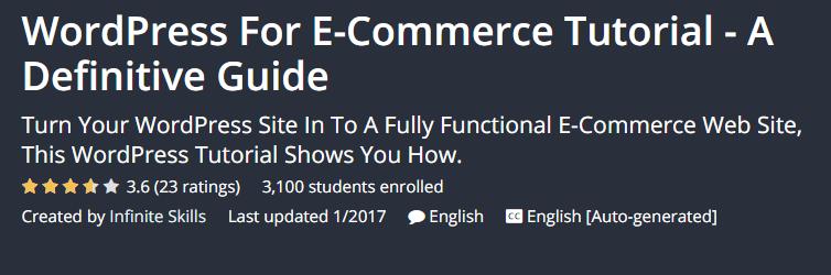 WordPress eCommerce tutorials