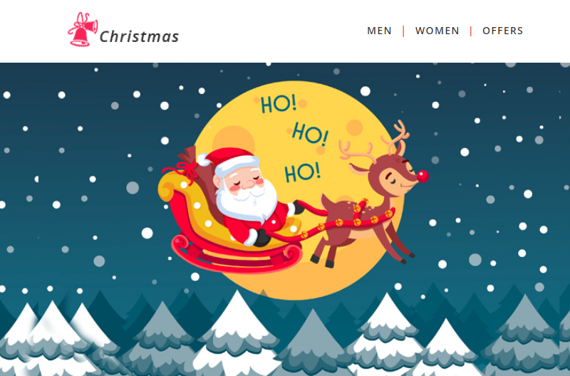 Christmas - Responsive Newsletter Template