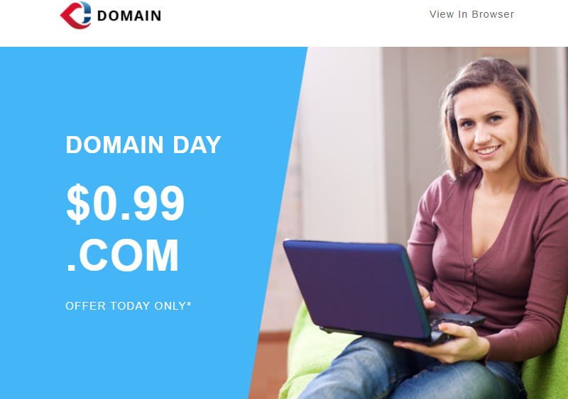 Domain Newsletter Template