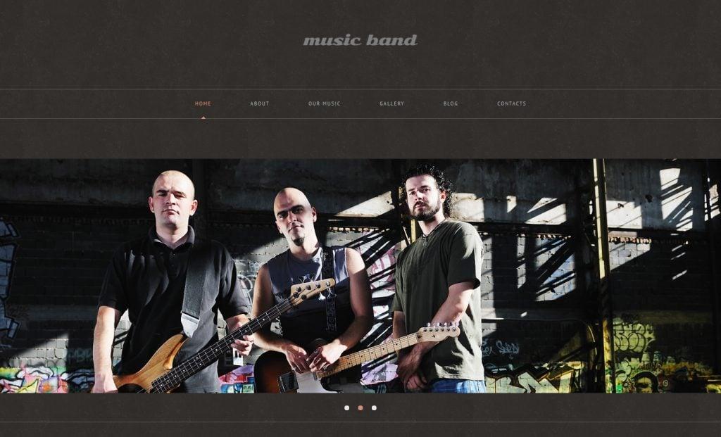 21 Great Music Band WordPress Themes: Free And Paid