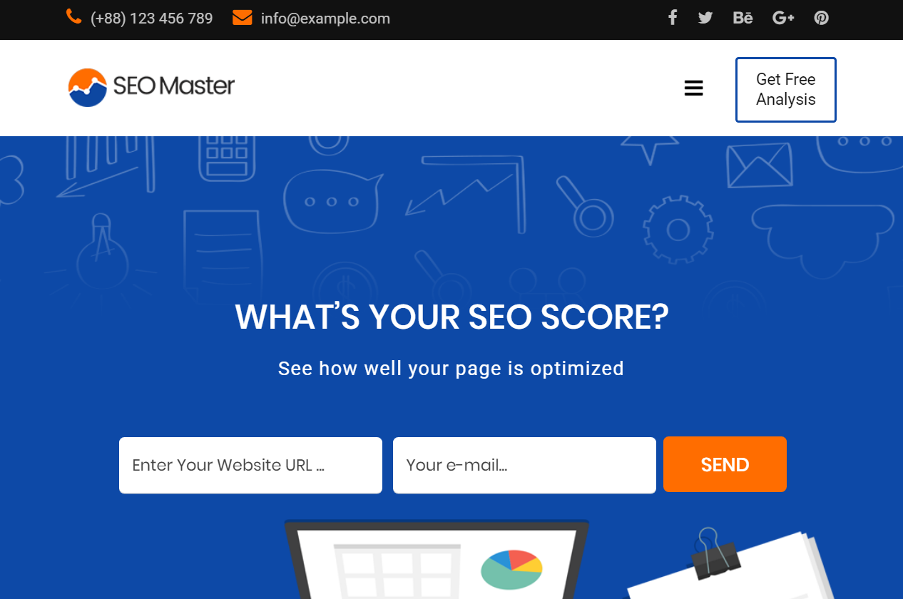 SEO Master - SEO & Digital Marketing Agency Joomla Template