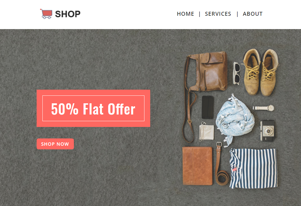 Shopping - Multipurpose Responsive Newsletter Template