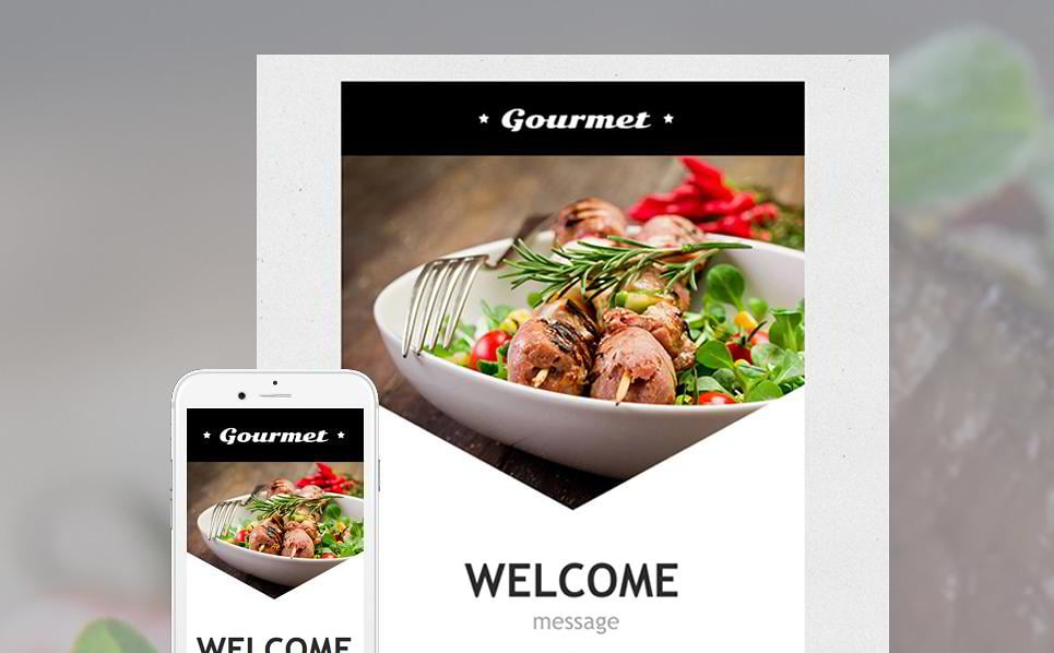 20 responsive email newsletter templates monsterpost cafe and restaurant newsletter template forumfinder Image collections