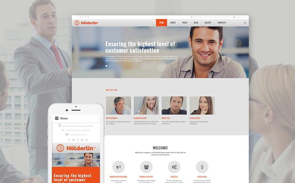 30 best joomla templates 2018 monsterpost the holderlin joomla template is quite versatile allowing users to personalize it according to the business the general design uses a high palette for the accmission Choice Image