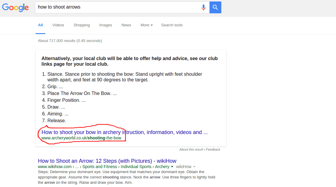 easy ways to improve your chanсes and get a featured snippet