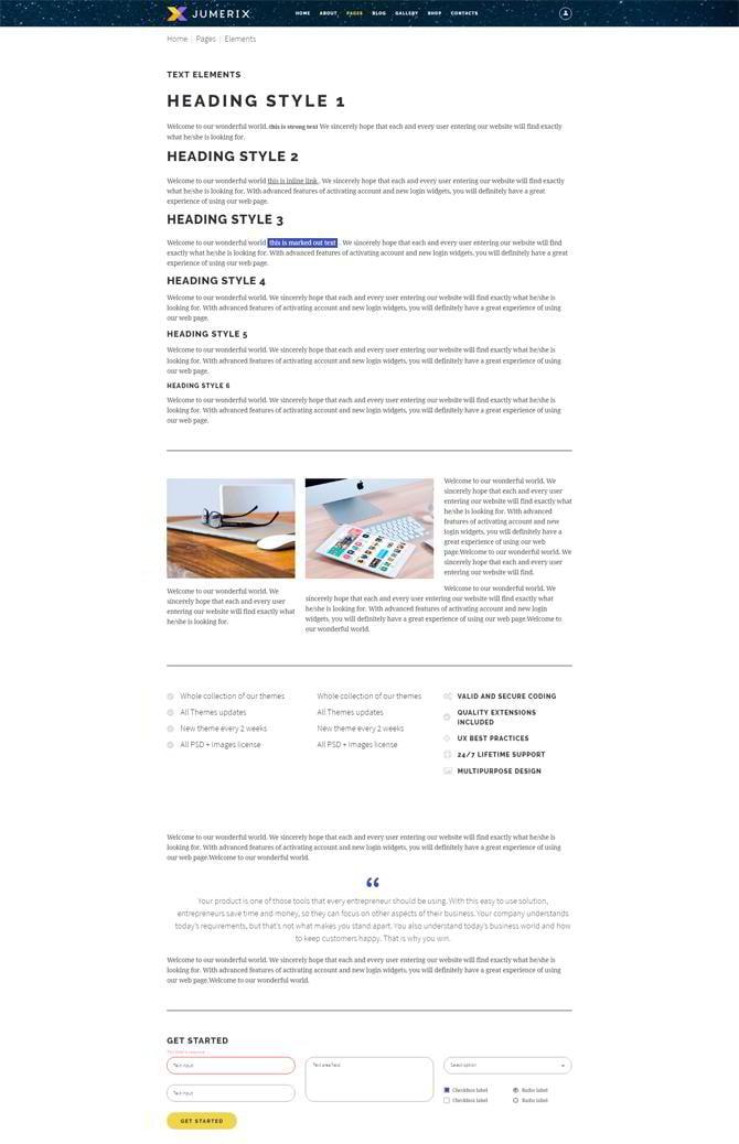 reviewing jumerix multipurpose joomla template giveaway