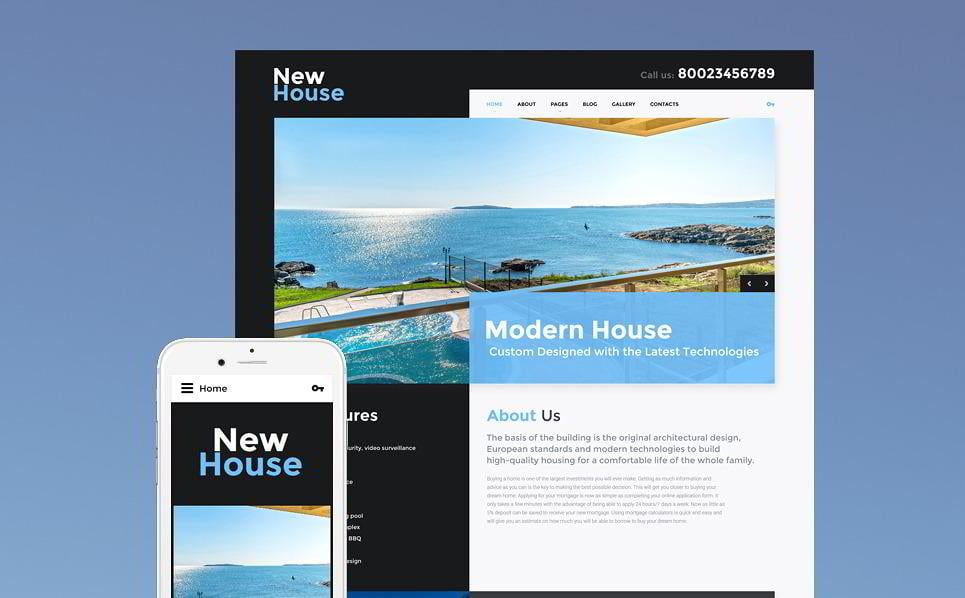 10 premium real estate templates built on joomla monsterpost new house pronofoot35fo Image collections