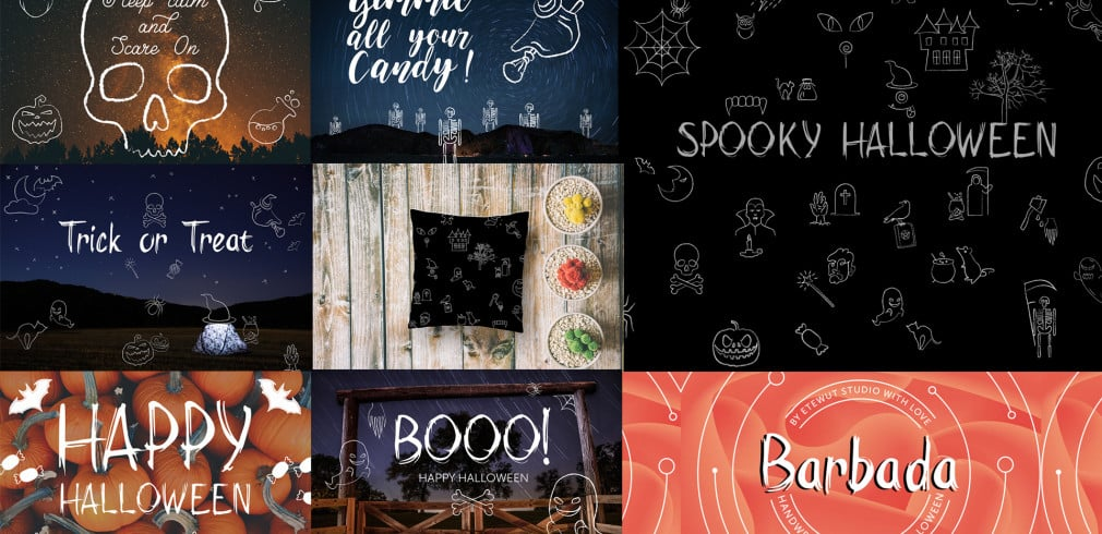 Spooky Halloween: Drawings Pack for Designers