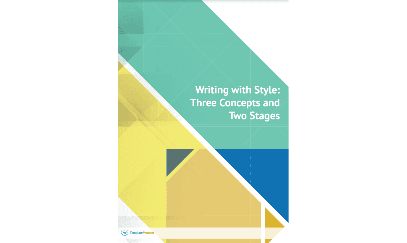 Writing With Style: Three Concepts and Two Stages (book cover)