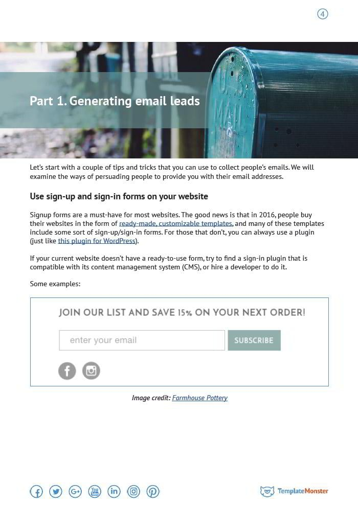 email listing done right an ultimate guide from template monster